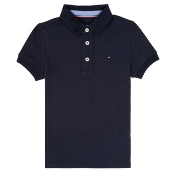 material Boy short-sleeved polo shirts Tommy Hilfiger  Marine