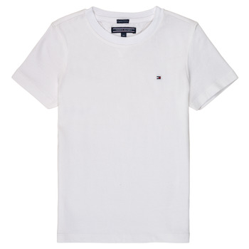 material Boy short-sleeved t-shirts Tommy Hilfiger KB0KB04140 White