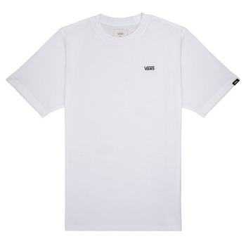material Boy short-sleeved t-shirts Vans BY LEFT CHEST White
