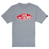 material Boy short-sleeved t-shirts Vans BY OTW LOGO FILL Grey