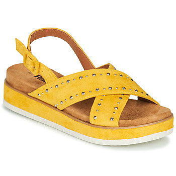 Shoes Women Sandals Refresh NOLI Yellow