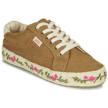 Shoes Women Low top trainers Banana Moon ZAYANA Kaki