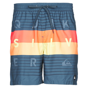 material Men Trunks / Swim shorts Quiksilver WORD BLOCK VOLLEY Multicolour