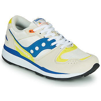 Shoes Men Low top trainers Saucony Azura White / Blue / Yellow