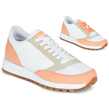 Shoes Women Low top trainers Saucony Jazz Vintage White / Salmon