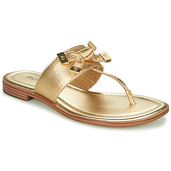 Shoes Women Flip flops MICHAEL Michael Kors RIPLEY THONG Gold