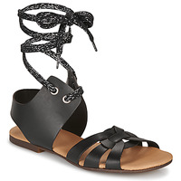 Shoes Women Sandals Ippon Vintage SAND LINE Black