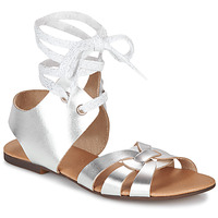 Shoes Women Sandals Ippon Vintage SAND LINE Silver