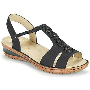Shoes Women Sandals Ara HAWAII Black