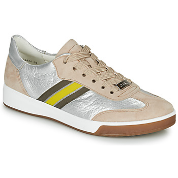Shoes Women Low top trainers Ara ROM-HIGHSOFT Silver / Beige / Yellow