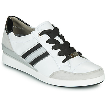 Shoes Women Low top trainers Ara LAZIO-HIGHSOFT White / Black