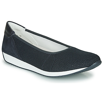 Shoes Women Ballerinas Ara PORTO-FUSION Blue