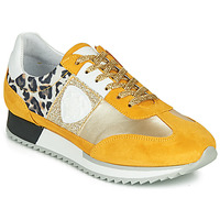 Shoes Women Low top trainers Philippe Morvan ROCKY2 Yellow / Gold