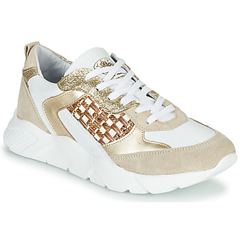 Shoes Women Low top trainers Philippe Morvan VIZ Beige / White