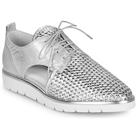 Shoes Women Derby shoes Regard LUCEY V2 TRESSE SILVER Silver
