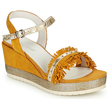 Shoes Women Sandals Regard DURTAL V4 CROSTA CURRY Yellow