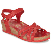 Shoes Women Sandals Panama Jack CHIA Red