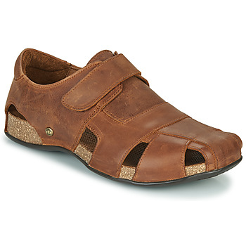 Shoes Men Sandals Panama Jack FLETCHER Brown