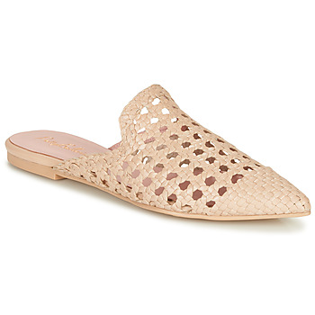 Shoes Women Mules Pretty Ballerinas COTON ROSATO Beige