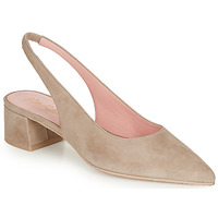 Shoes Women Court shoes Pretty Ballerinas ANGELIS SAFARI Beige