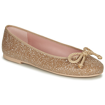 Shoes Women Ballerinas Pretty Ballerinas BELLE SAND Gold