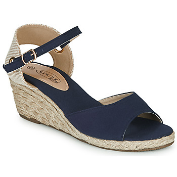 Shoes Women Sandals Spot on F2260 Blue