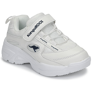 Shoes Girl Low top trainers Kangaroos KC-CHUNKY EV White