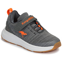 Shoes Children Low top trainers Kangaroos KB-Hook EV Grey / Orange