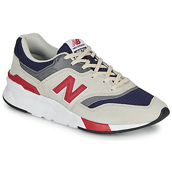 Shoes Men Low top trainers New Balance 997 Grey / Blue / Red
