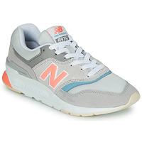 Shoes Women Low top trainers New Balance 997 Grey / Blue / Pink