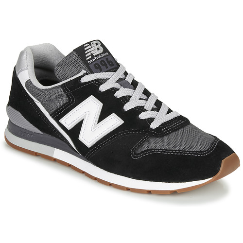 New Balance 996 Black / White - Free delivery | Spartoo NET ...