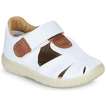 Shoes Boy Sandals Citrouille et Compagnie GUNCAL White