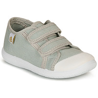 Shoes Children Low top trainers Citrouille et Compagnie GLASSIA Grey
