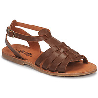 Shoes Girl Sandals Citrouille et Compagnie MINIBOU Brown