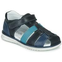 Shoes Boy Sandals Citrouille et Compagnie FRINOUI Blue
