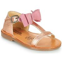 Shoes Girl Sandals Citrouille et Compagnie MELINDA Silver