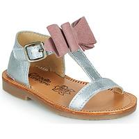Shoes Girl Sandals Citrouille et Compagnie MELINDA Pink / Gold