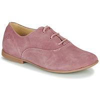 Shoes Girl Derby shoes Citrouille et Compagnie MISTI Pink