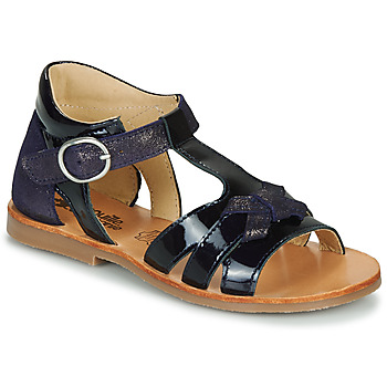 Shoes Girl Sandals Citrouille et Compagnie MOLINETTE Marine