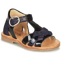 Shoes Girl Sandals Citrouille et Compagnie MOLINETTE Marine