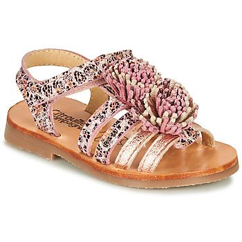 Shoes Girl Sandals Citrouille et Compagnie MARINAS Pink