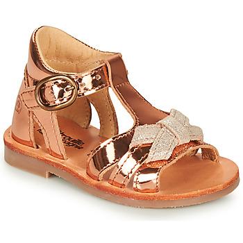 Shoes Girl Sandals Citrouille et Compagnie MINIMOME Bronze