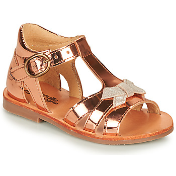 Shoes Girl Sandals Citrouille et Compagnie MINIMOME Bronze