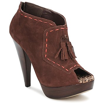 Shoes Women Low boots Via Uno KAMILA Brown