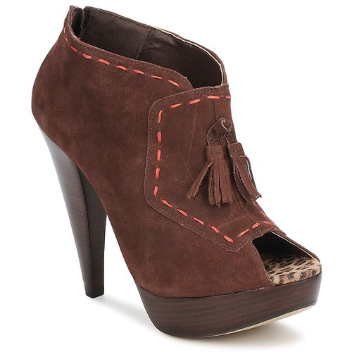 Shoes Women Low boots Via Uno KAMILA Brown