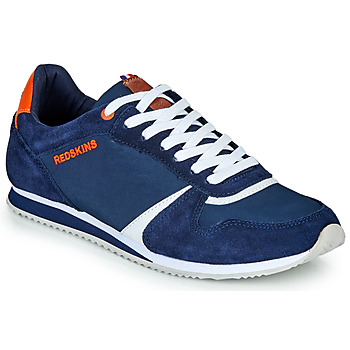 Shoes Men Low top trainers Redskins HASHER Marine / White