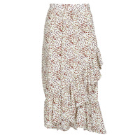 material Women Skirts Betty London  White / Red