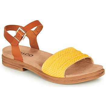 Shoes Women Sandals IgI&CO 5170711 Cognac / Yellow