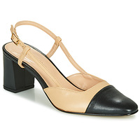 Shoes Women Court shoes Jonak DHAPOP Beige / Black