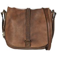 Bags Women Shoulder bags Moony Mood LOURRE Cognac
